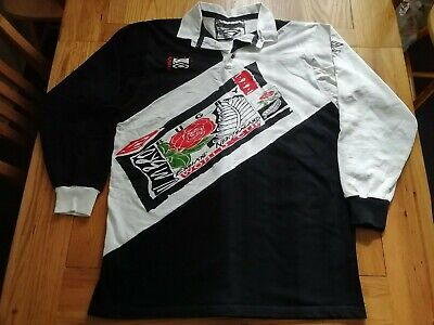 "RETRO ENGLAND V NEW ZEALAND 1991 WORLD CUP UMBRO RUGBY UNION SHIRT 42"" CHEST"