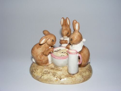 Beswick figurine Beatrix Potter 100th Anniv FLOPSY, MOPSY & COTTONTAIL lmt ed