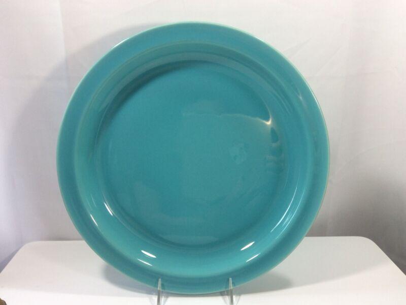 "Gladding-McBean El Patio Chop Teal Blue 14"" Plate Platter - Near Mint"