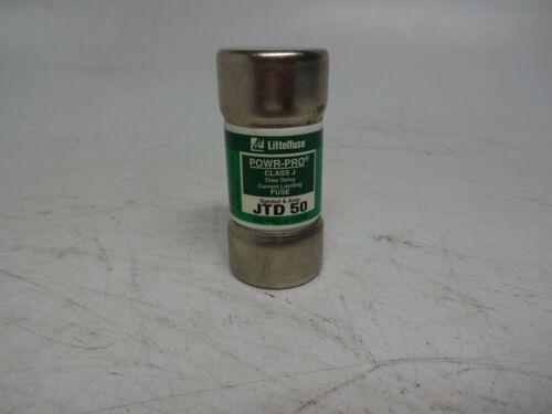 Littelfuse Powr-Pro JTD50 Fuse JTD-50 JTD 50 Class J Time Delay 50 Amp 600 VAC