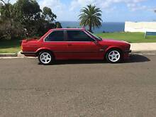 1987 BMW 325e Coupe 5 Speed Manual in Zinnoberrot Red Collaroy Manly Area Preview