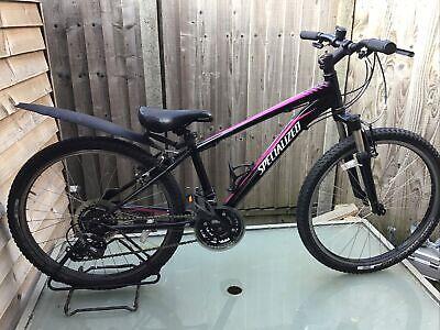 """Specialized Hotrock 24"""" Wheel Alloy Frame Girls Mountain Bike Ref 3228f"""