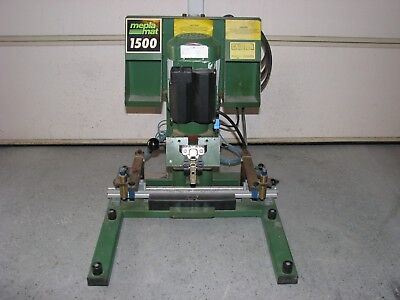 Mepla Mat 1500 Hinge Boring Machine For Wood Working 220 Volt Ac 1 Phase
