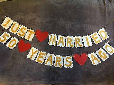 Wedding Anniversary Banners (Wedding Anniversary Banner