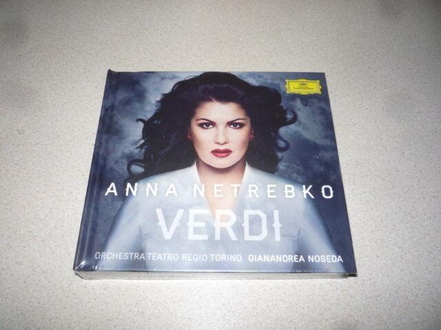 Giuseppe Verdi - Verdi (2013) anna netrebko (artist) gianandrea noseda brand new