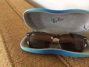 Authentic Ray Ban Wayfarer with polarized lens