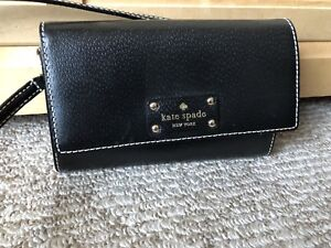 Kate spade purse (clutch) With crossover strap