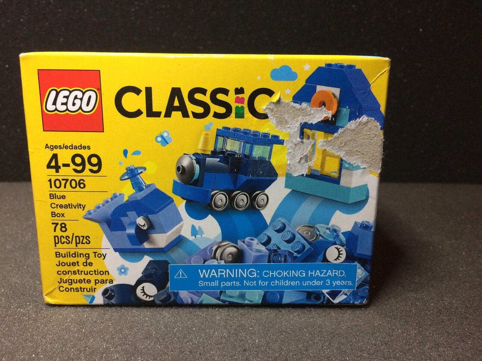 Lego Set 10706 Classic Blue Creativity Box