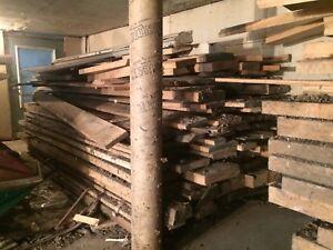 Planches de bois franc à vendre (Chêne)