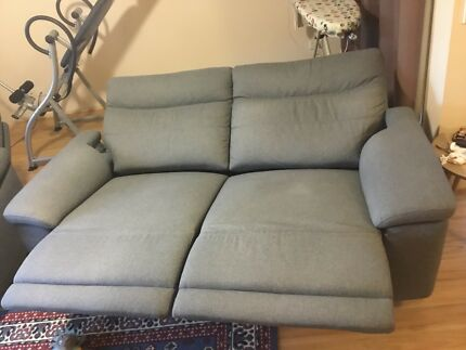 3 wide Nick Scali Electric recliners