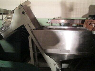 Automatic Feeder Co Hoppmann Model Ep0808 8w Hopper 14 Hp Feed Conveyor