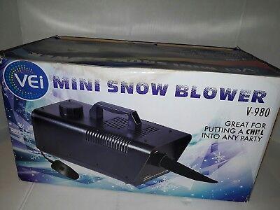 Vei Mini Snow Blower Generating Machine Visual Effects V980 Vei