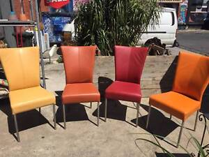 Dining chairs,leather chairs, designer chairs, WE CAN DELIVER Brunswick Moreland Area Preview