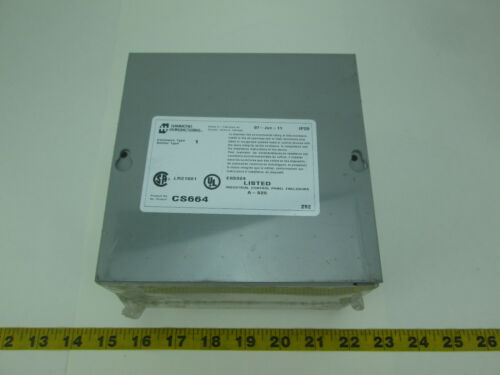 """New Hammond Manufacturing CS664 Electrical Enclosure Junction Box 6"""" x 6"""" x 4"""""""