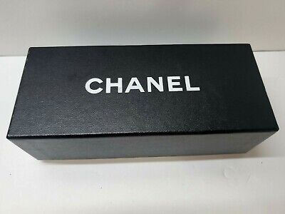 CHANEL Designer Black Small Gift Storage Box, Jewelry, Glasses, ect. 7