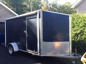 Remorque trailer v-nose 6x12