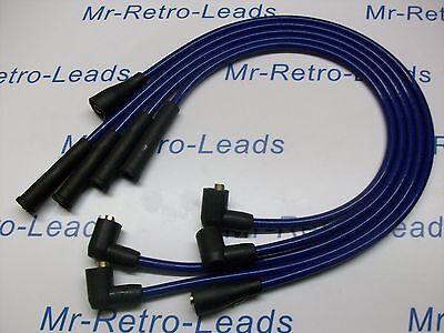 BLUE 8.5MM IGNITION LEADS FOR ESCORT MK4 MK3 MK2 RS TURBO FIESTA MK2 ORION MK2