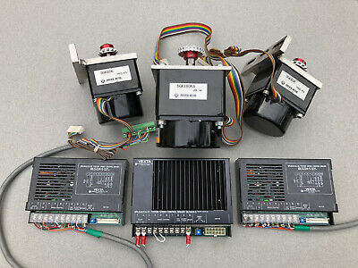 Vexta 3-axis Servo Motor Driver System Matched Gearheads Cnc