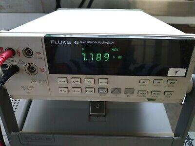 Fluke 45 Dual Display Digital Multimeter Free Shipping