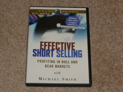 Michael Smith - Effective Short Selling DVD stock market trading