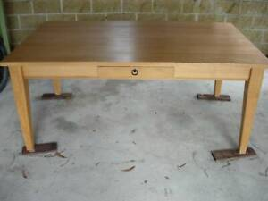 Dining table and chairs - solid Tassie Oak