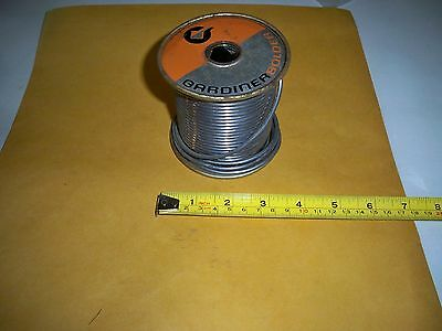 5050 Solder 5lb Spool 18 .125 3.15mm Thick Gardiner Nos Free Shipping