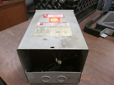 Cutler-hammer Dry-type Distribution Transformer S10n11s02n 2kva Used