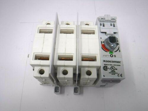 Socomec Disconnect Switch 27013006 Sirco V60 3 Pole 60 Amp 600 VAC/250 VDC *NEW*
