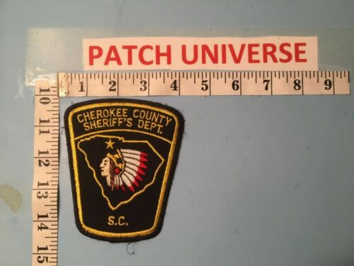 CHEROKEE COUNTY SC SHERIFF DEPT  SHOULDER PATCH  O061