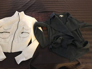 TWO LADIES SMALL JACKETS