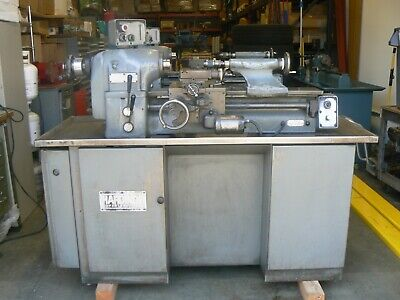 Hardinge Tfb-h Super Precision Tool Room Lathe 11 X 18 220-230v Hlv-h