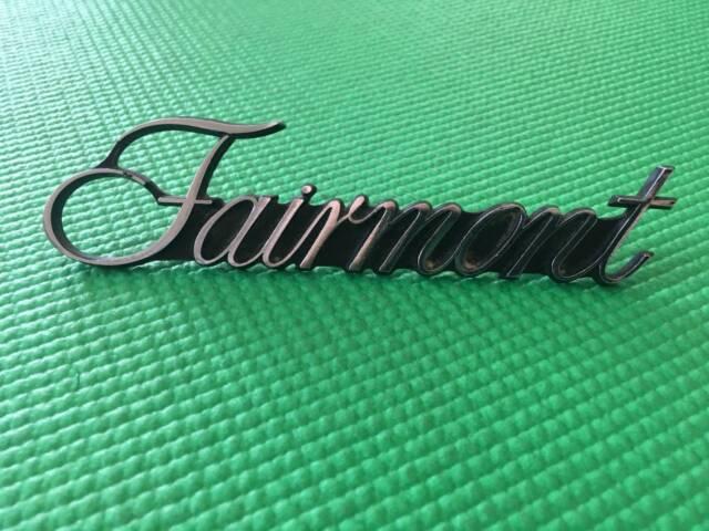 "FORD FALCON "" FAIRMONT "" CHROME METAL EMBLEM | Auto Body ..."