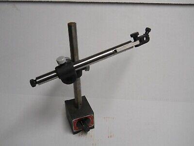 Starrett 659 Heavy Duty Base Indicator Holder Wrotary Onoff Switch. Used