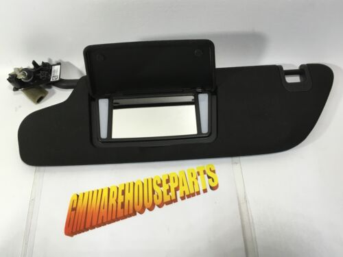 2014-2018 CORVETTE DRIVERS SIDE SUNVISOR WITH GARAGE DOOR OPENER NEW GM 84445346