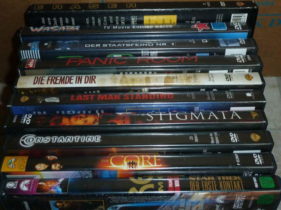 DVD Sammlung 125 Filme: The Core, Transformers, Virus, Anatomie in Saarbrücken - Saarbrücken-Mitte