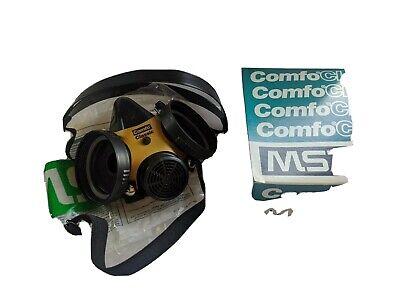 Msa 808073 Comfo Classic Large Half Mask Silicone Respirator Face Piece Large Ne