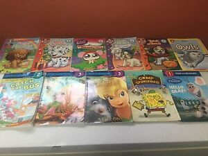 Stepinto reading books-fairies/petshop/lego friends-24 total!