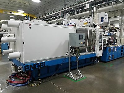 2005 Engel 610 ton Two-shot, Two-Color Injection Molding Machine
