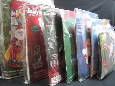 Christmas Stocking Craft Kits - Multi Brand & Style - You Pick - Read Listing  ()