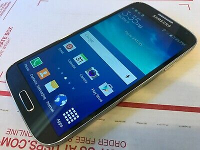 Samsung Galaxy S4 SCH-I545 - 16GB - Black Mist (Verizon MVNO) Smartphone - Works