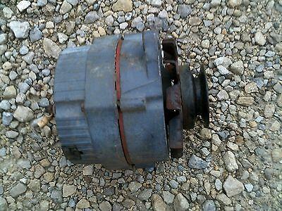 John Deere M Jd Tractor Original 6v Alternator Fan Belt Drive Pulley