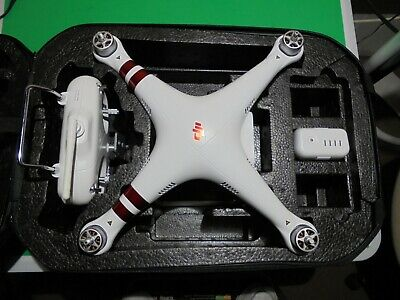 DJI Phantom 3 Beau id Quadcopter Drone--GREAT FOR NEW PILOT--FLIES GREAT--WOW