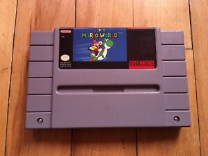 Super Mario World jeu SNES game