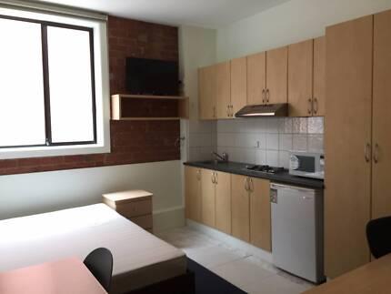 Studio Apartment Melbourne furnished large studio apartment at student village melbourne
