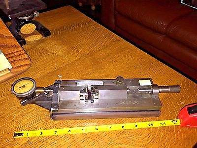 Geo. Scherr Gear Tester With Indicator .0005