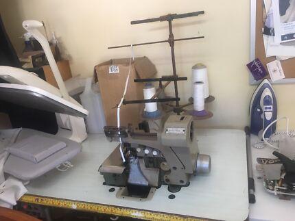 Industrial Sewing machine swimwear stretch with elastic