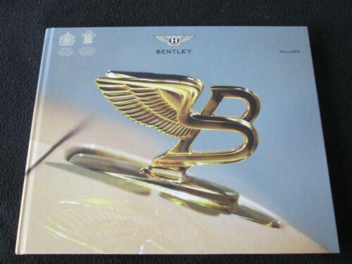 2017 2016 Bentley Mulliner Sales Brochure Special Order Commission Color Catalog