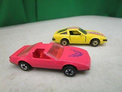 Vintage Lot of 2 Hot Wheels  *80's FIREBIRD & 300 ZX*  1:64
