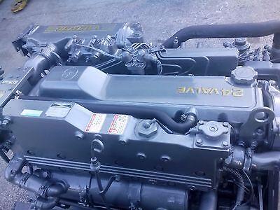 Pair  Rebuilt Yanmar 6LP 6LPA 6LP2A STE STP Marine Diesel Engine 315HP Boat