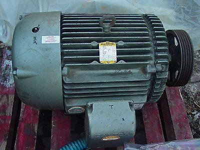 Baldor 40 Hp M4110t Tefc Motor 230-460v 3ph 1760 Rpm Wcertification